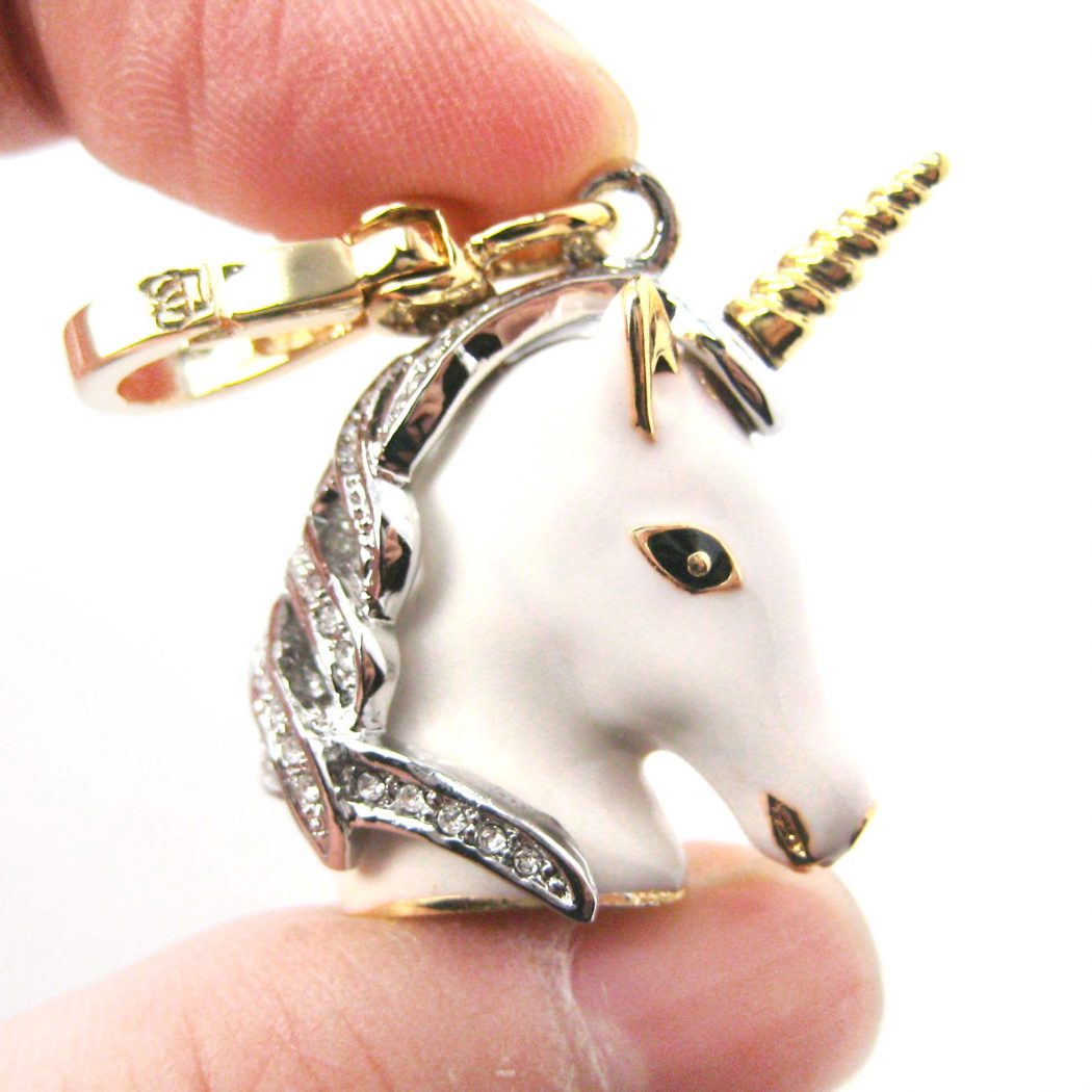 unicorn-animal-pendant-necklace-jewelry_original 69 Dress Jewelry Pieces in the Shape of Your Favorite Animal