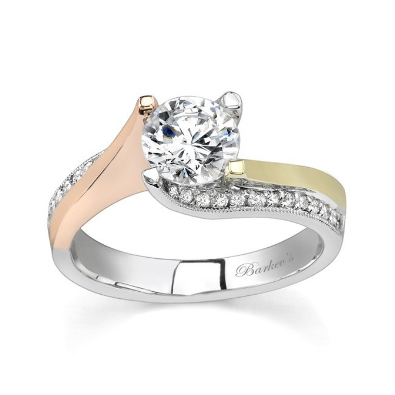 unique-diamond-engagement-rings1 Easy Tricks to Make Your Diamond Look Larger