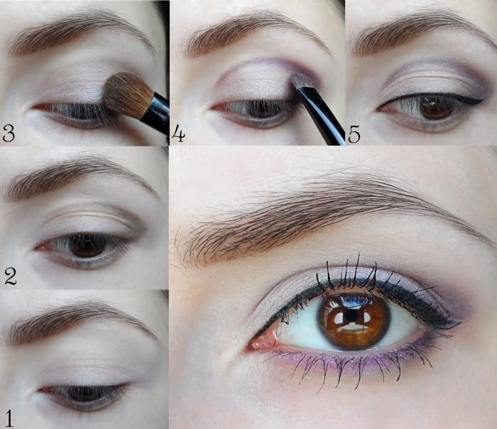 violet-makeup-tutorial How to Wear Eye Makeup in six Simple Tips