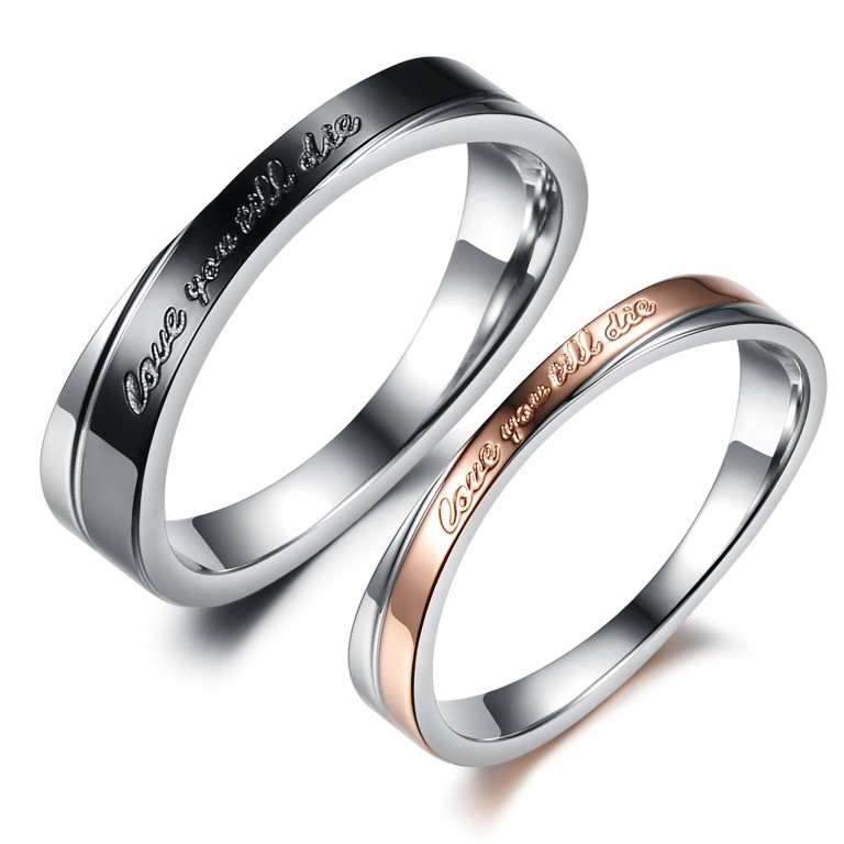 wedding-jewelry-promise-rings-for-couples-stainless-steel-lover-sell-wedding-rings-calgary How to Clean Your Stainless Steel Jewelry