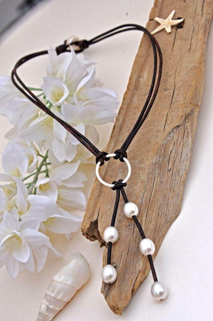 wonderful-leather-jewelry-2 Top 25 Breathtaking & Stylish Leather Jewelry Pieces