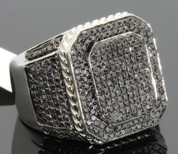 0000121_213-carat-mens-100-genuine-black-diamond-ring Men's Diamond Rings for More Luxury & Elegance