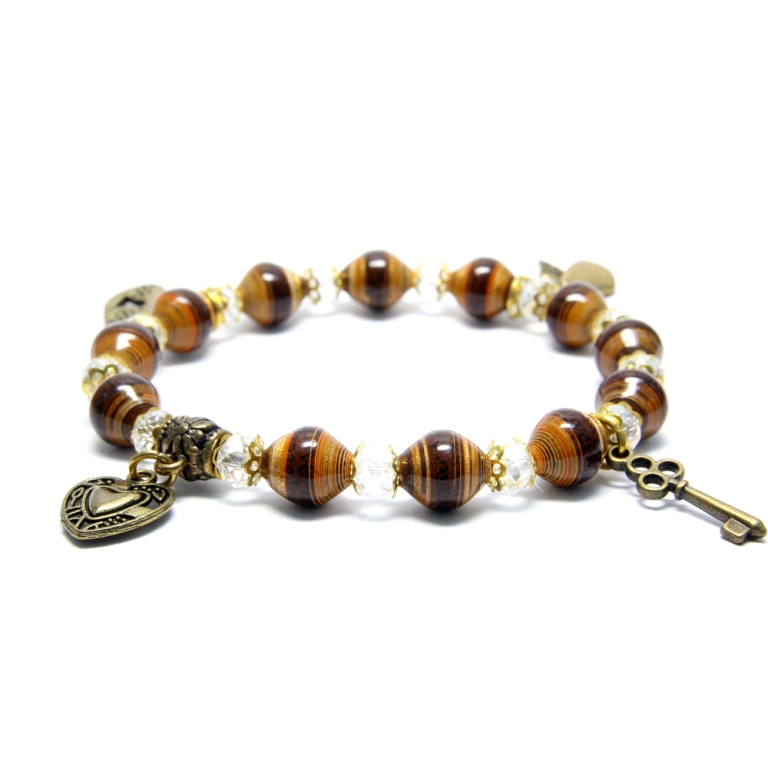 1 Create Fascinating & Dazzling Jewelry Pieces Using Wooden Beads