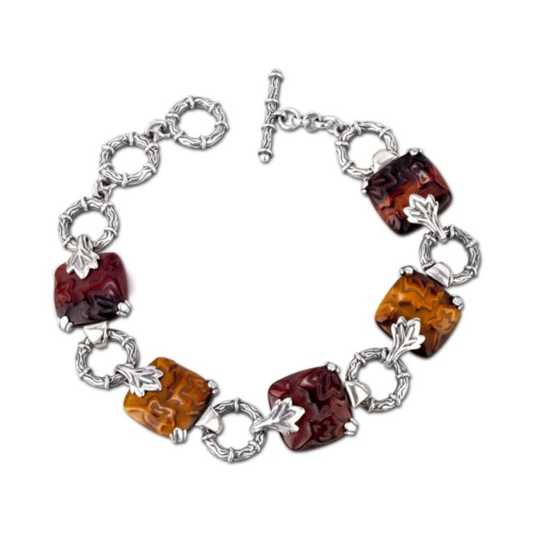 1_28299_ZM_Autumn-Waltz-Tiger-Eye-Toggle-Bracelet Tiger Eye Jewelry & Its Unusual Properties