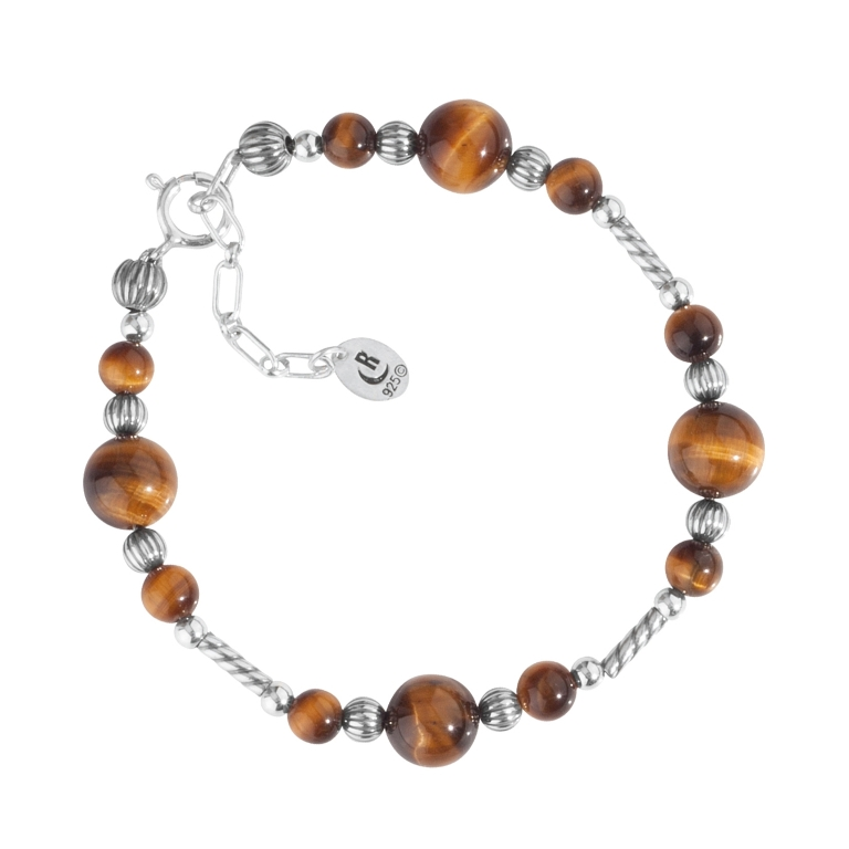 1_31228_ZM_Sterling-Silver-And-Tiger-Eye-Bracelet- Tiger Eye Jewelry & Its Unusual Properties