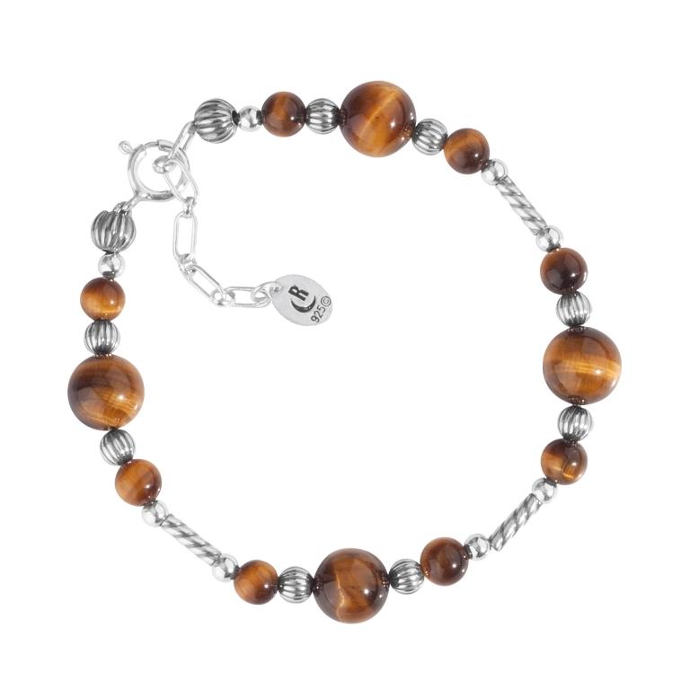 1_31228_ZM_Sterling-Silver-And-Tiger-Eye-Bracelet- Tiger Eye Jewelry & Its Unusual Properties
