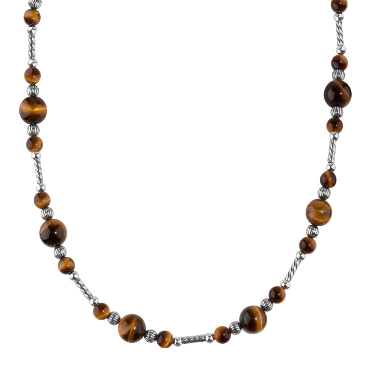 1_31260_ZM_Sterling-Silver-And-Tiger-Eye-Necklace Tiger Eye Jewelry & Its Unusual Properties