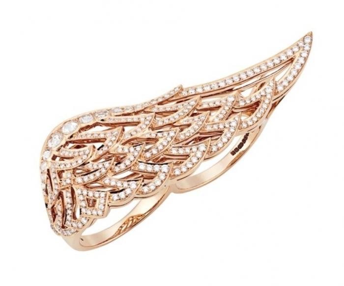 20122331 Double Finger Rings for Elegant Hands