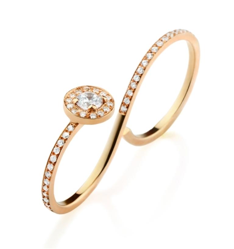 2071831 Double Finger Rings for Elegant Hands