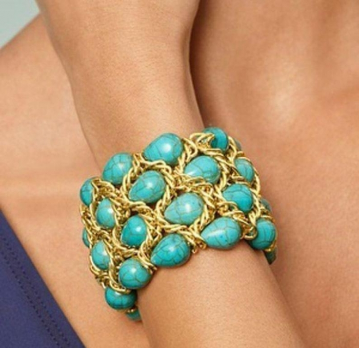 """37-turquoise-jewelry-trend Turquoise jewelry """" The Stone of the Sky & Earth"""""""