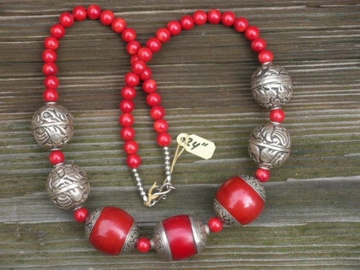 8014.35966 Create Unique & Fashionable Jewelry Using Tibetan Silver Beads