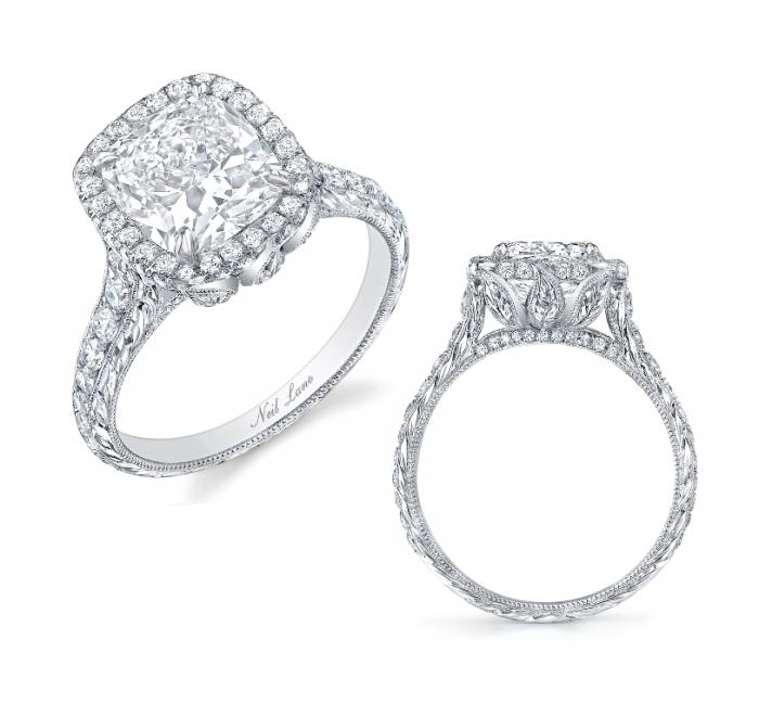 BachelorRing2012SmLvHR454 Cushion Cut Engagement Rings for Beautifying Her Finger