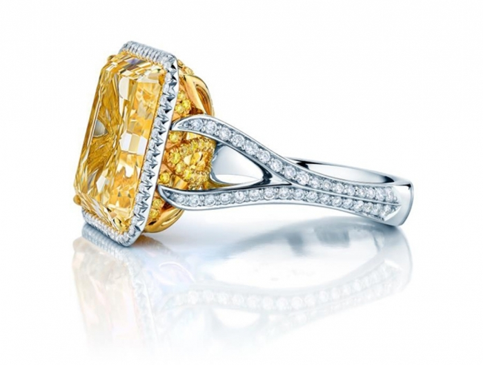 Birks-fancy-yellow-diamond-ring-edmonton-showcase-April-2013 The Rarest Yellow Diamonds & Their Breathtaking Beauty