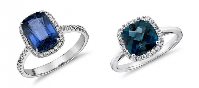 Blue-Nile-Sapphire-Cushion-Cut-Engagement-Ring Cushion Cut Engagement Rings for Beautifying Her Finger