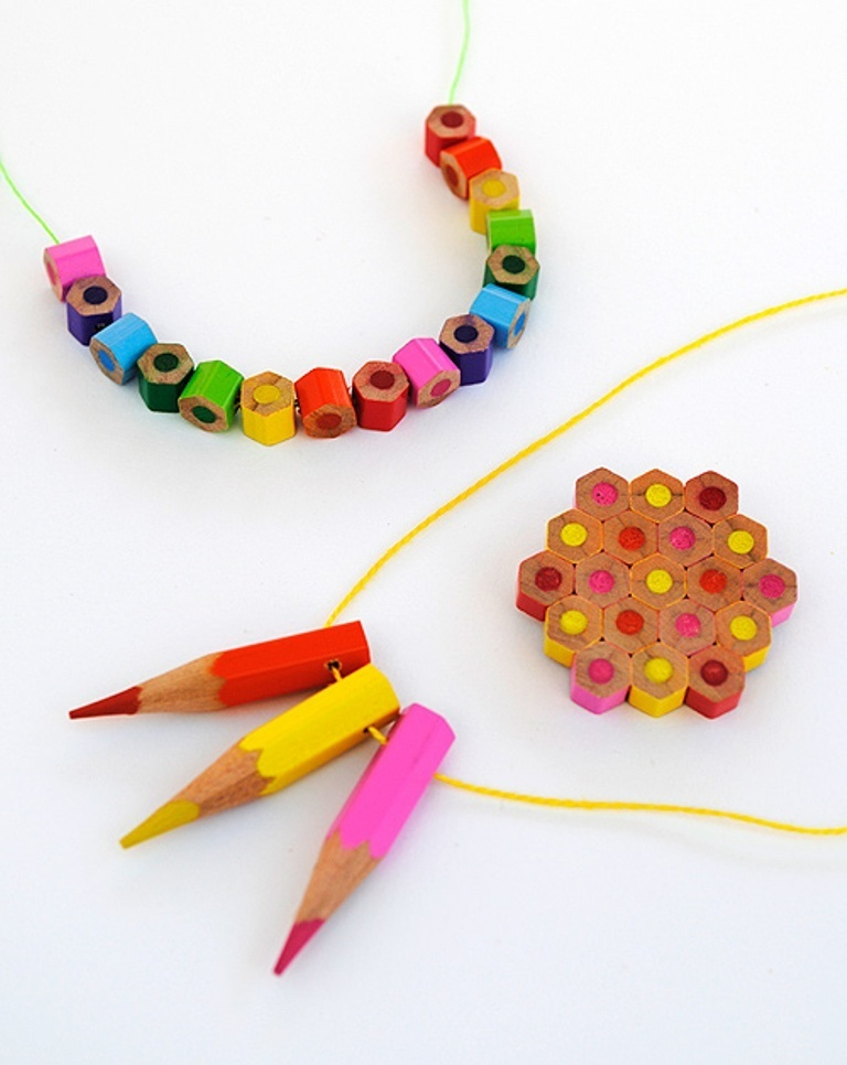 Colored-Pencil-Jewelry-from-Design-Mom 25 Mysterious Rainbow Jewelry Designs