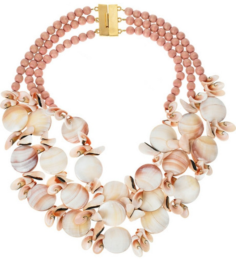 Dannijo-Augustine-beaded-necklace Seashell Jewelry as a Natural Gift