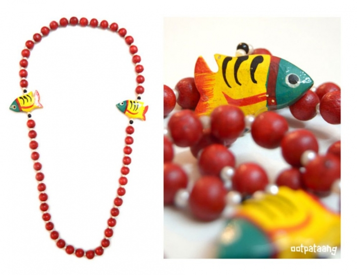 FHNK11 Create Fascinating & Dazzling Jewelry Pieces Using Wooden Beads