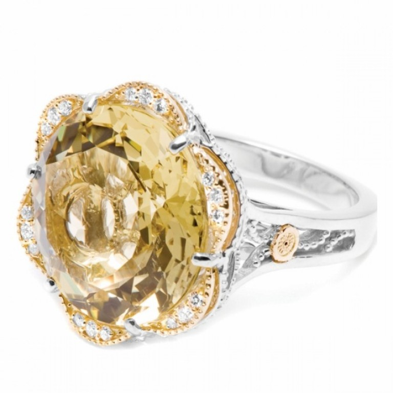 """Golden-Sky-Ring Top 10 Facts of Tacori Jewelry """"The Jewel of Rich, Famous & Stars"""""""