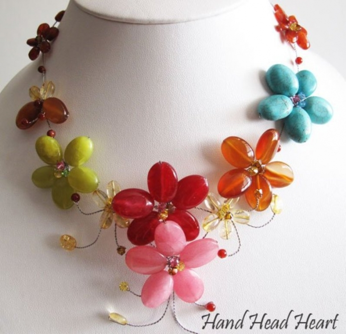 HandMade_Fashion_Jewelry_Costume_Jewelry_Gemstones_Colorful Get a Royal & Fashionable Look with Costume Jewelry
