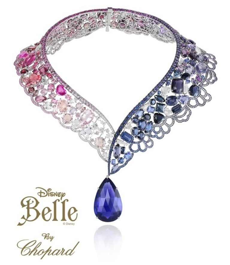Harrods-Disney-Jewelry-Collection-by-Chopard-Belle 10 CRITICAL Differences between 10K, 14K, 18K & 24K Gold Jewelry?