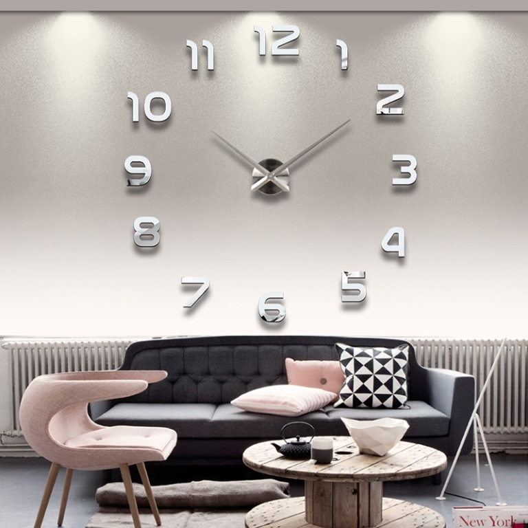 Home-decoration-big-digital-mirror-font-b-wall-b-font-clock-Modern-font-b-design-b Forecasting the Hottest Trends in Home Decoration 2017 ... [UPDATED]