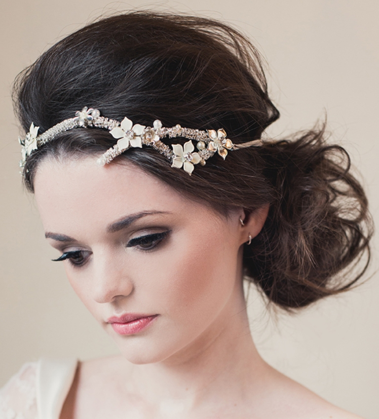 """KlaireElton-HB-Location-41 """"Wedding Headbands"""" The Best Choice for Brides, Why?!"""