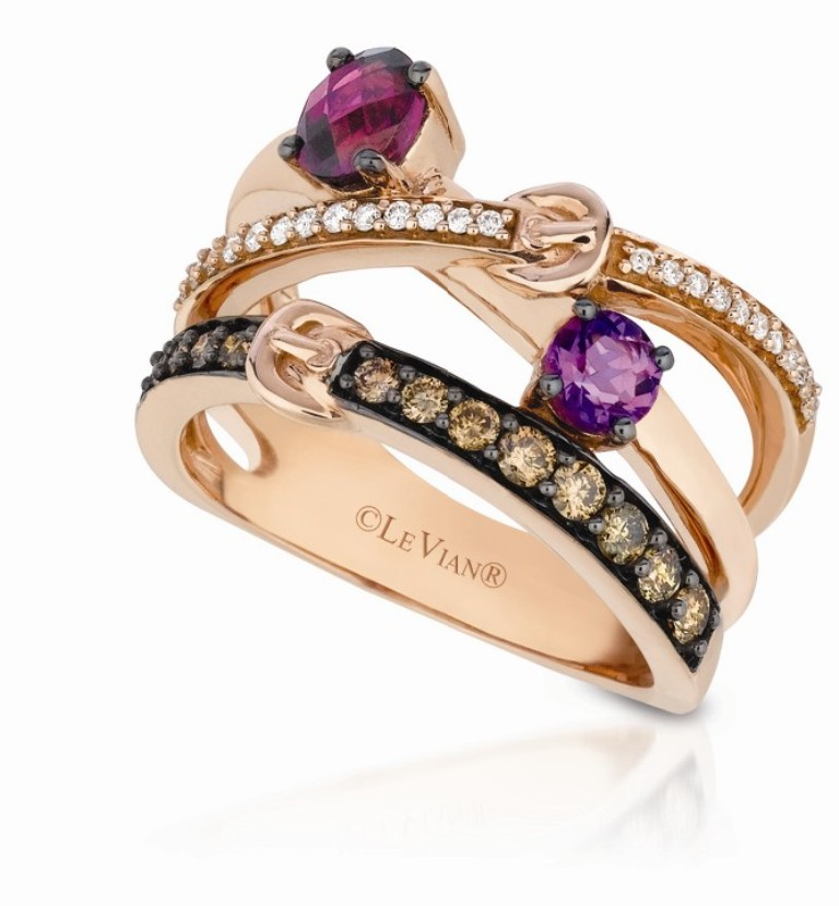Le-Vian_YPUQ-5 10 CRITICAL Differences between 10K, 14K, 18K & 24K Gold Jewelry?