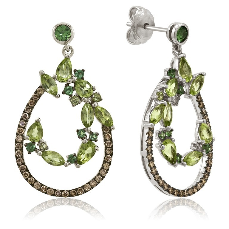 LeVian-Peridot-Earrings Most Exclusive Peridot Jewelry that Shines Even at Night