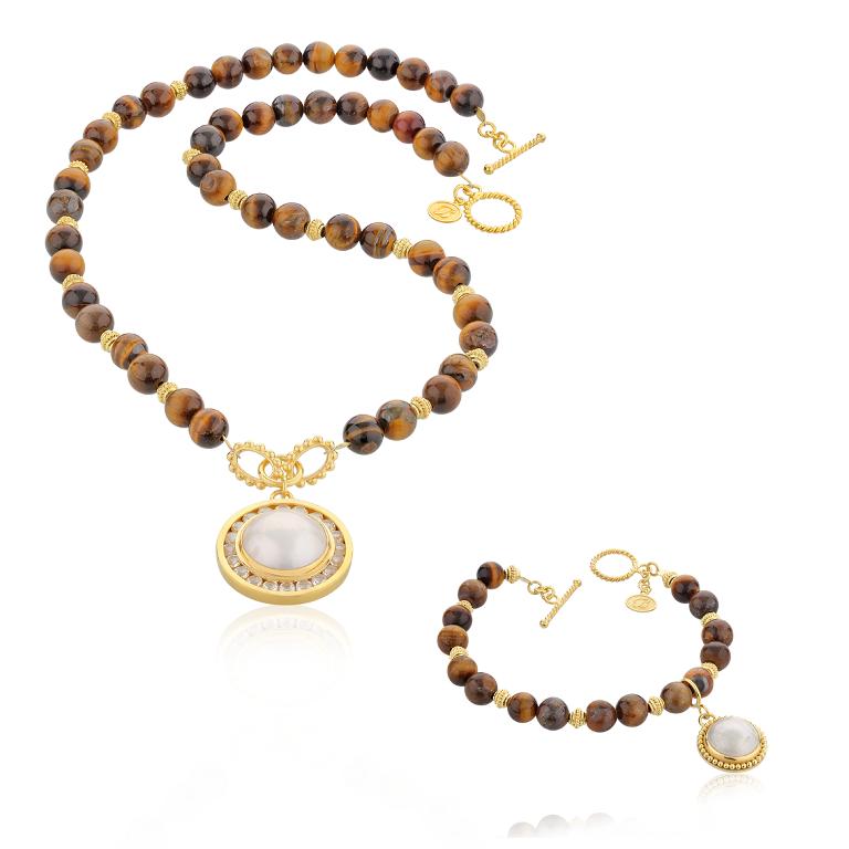 MB01-TGEYE-set Tiger Eye Jewelry & Its Unusual Properties