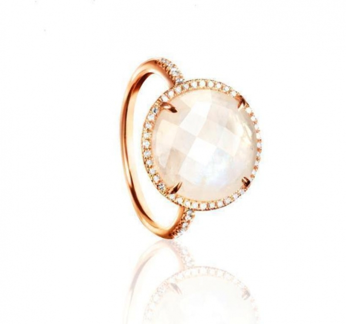 MJ-Facets-Moonstone-Diamond-Ring-RGDIA00643P Moonstone Jewelry Offers You Fashionable Look & Healing properties