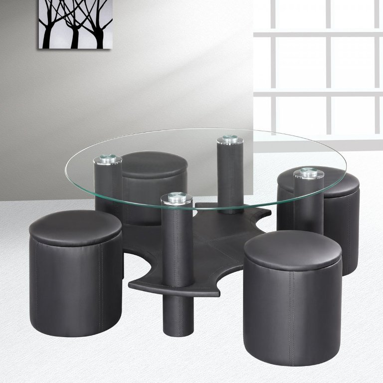 Modern-Functional-Cofee-Table-Design-with-Bookcase-Furniture-Ideas- Forecasting--> 25+ Hottest Trends in Home Decoration 2019