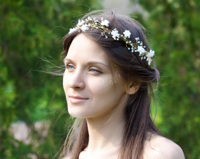"Pearl-Wedding-Headbands-05 ""Wedding Headbands"" The Best Choice for Brides, Why?!"