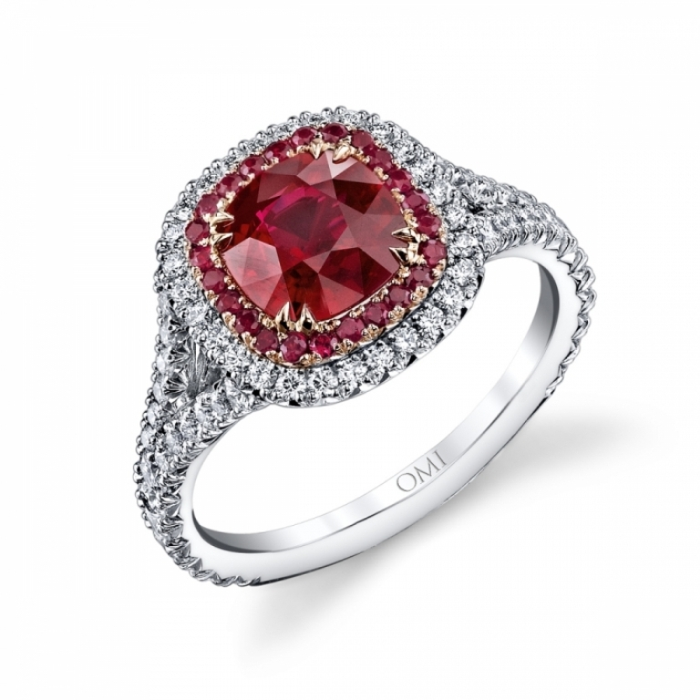 RC1480RUCU-RubyDiamondRing1 Top 10 Non-Diamond Engagement Ring Types for a More Unique Proposal