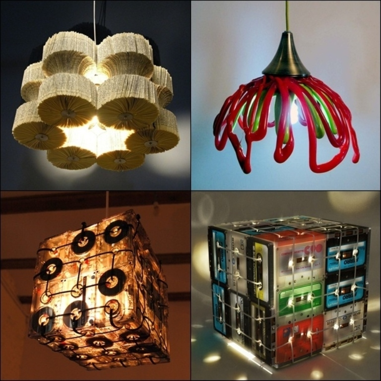 Forecasting the hottest trends in home decoration 2015 for Things can be made from waste material