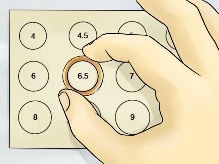 Ring-Sizer How to Measure Your Ring Size on Your Own