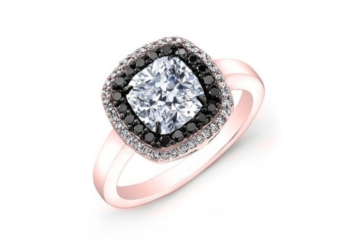 Round-Brilliant-Cut-Diamond-Halo-Anniversary-Engagement-Ring-2 How to Select the Best Engagement Ring