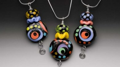 Photo of Glass Beads for Creating Romantic & Fashionable Jewelry Pieces