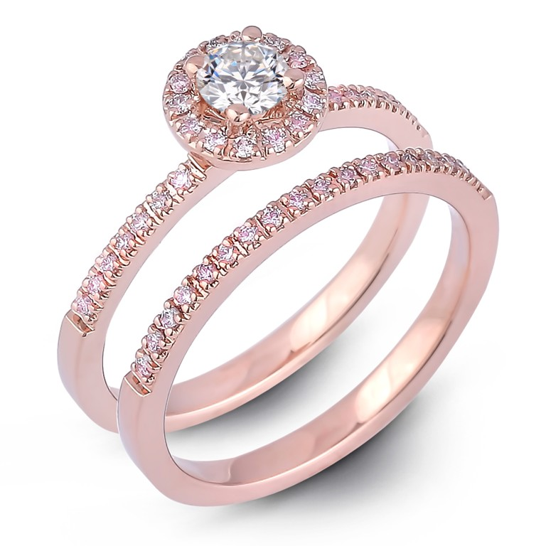 SGR955_set_1 Most Famous Romantic & Unique Jewelry with Pink Diamonds