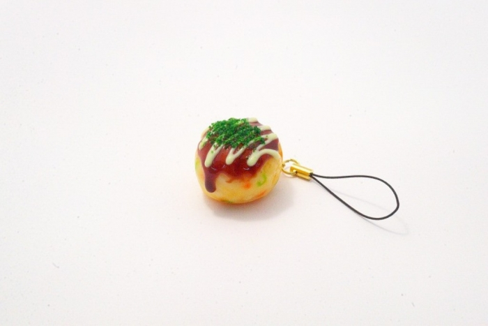 Takoyaki_Fried_Octopus_Ball_with_Mayonnaise_small_Cell_Phone_Charm_Zipper_Pull_MED_1024x1024 Mobile Phone Charms to Renew Your Mobile Phone