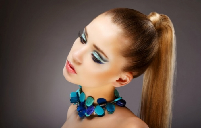 """Turquoise-large-cab-modern-necklace-177735299 Turquoise jewelry """" The Stone of the Sky & Earth"""""""