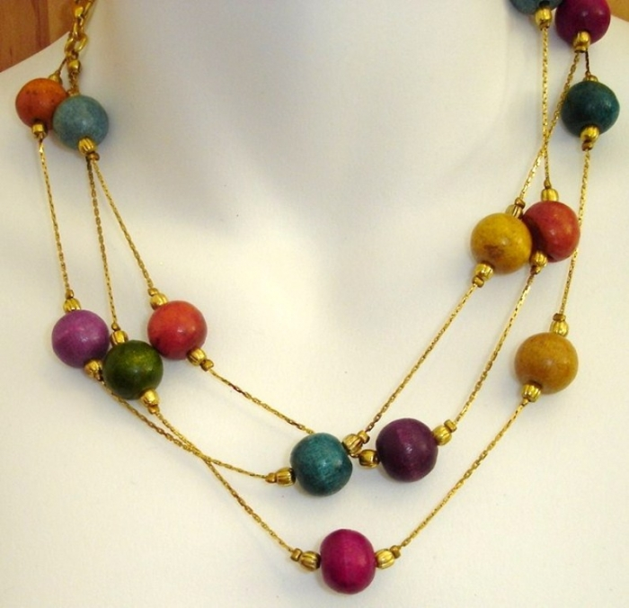 Wooden-Beads-3 Create Fascinating & Dazzling Jewelry Pieces Using Wooden Beads