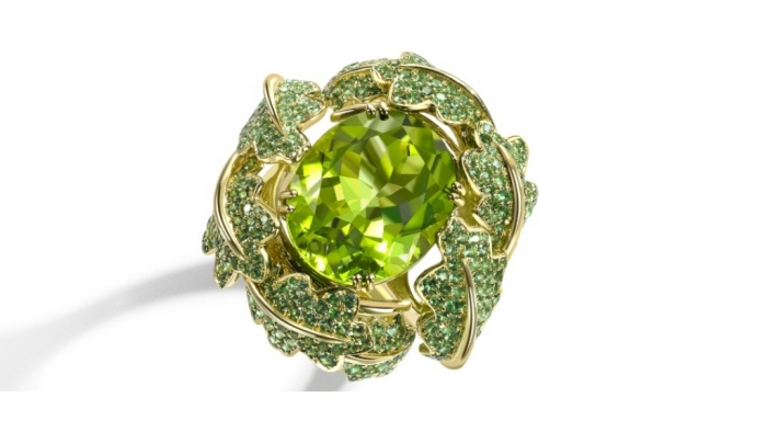 Woodland_Ring___Peridot Most Exclusive Peridot Jewelry that Shines Even at Night