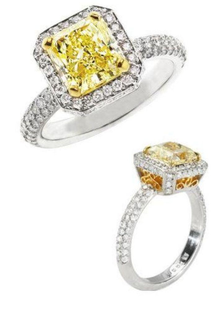 Yellow-Diamond-Engagement-Ring-6 The Rarest Yellow Diamonds & Their Breathtaking Beauty
