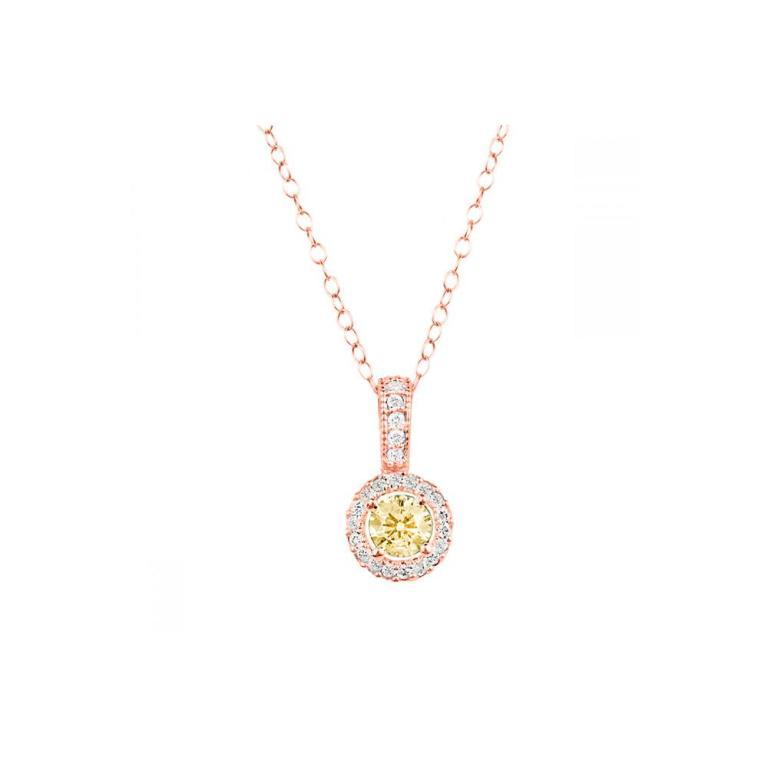 YellowDiamondHaloPendant_RG_Front The Rarest Yellow Diamonds & Their Breathtaking Beauty