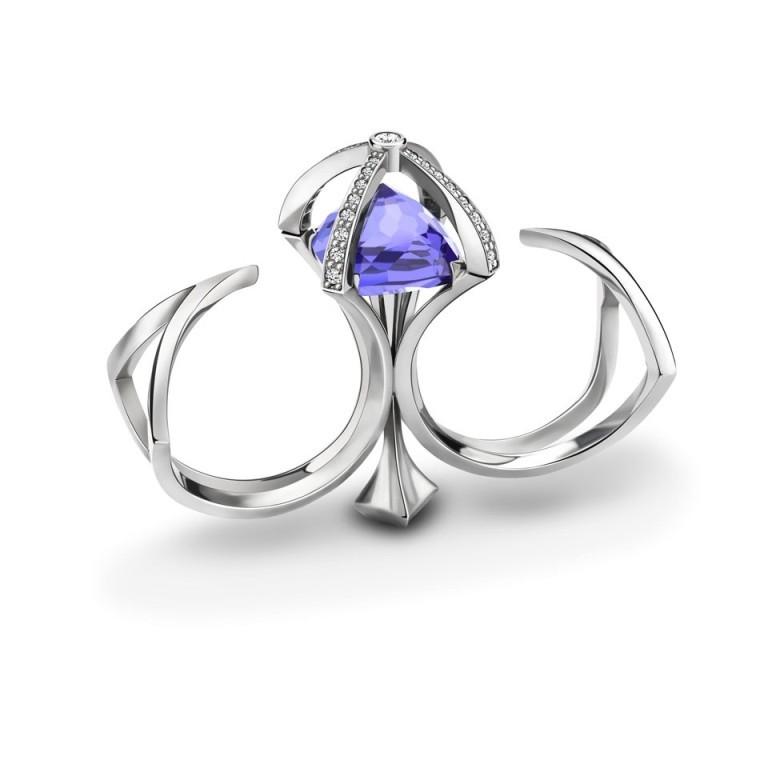 alexander_davis_diadem_ring_15k1 Double Finger Rings for Elegant Hands