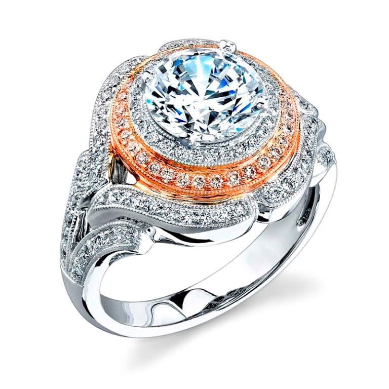 antique-cushion-cut-diamond-engagement-rings Cushion Cut Engagement Rings for Beautifying Her Finger