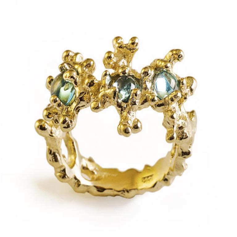 between-the-seaweeds-gold-ring-with-blue-topaz Do You Know Your Zodiac Gemstone?