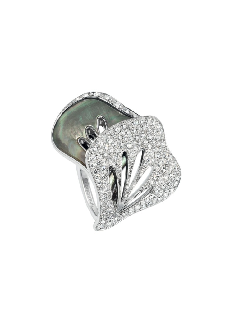 boucheron-hotel-de-la-lumiere-fleur-du-jour-ring Top 10 Non-Diamond Engagement Ring Types for a More Unique Proposal