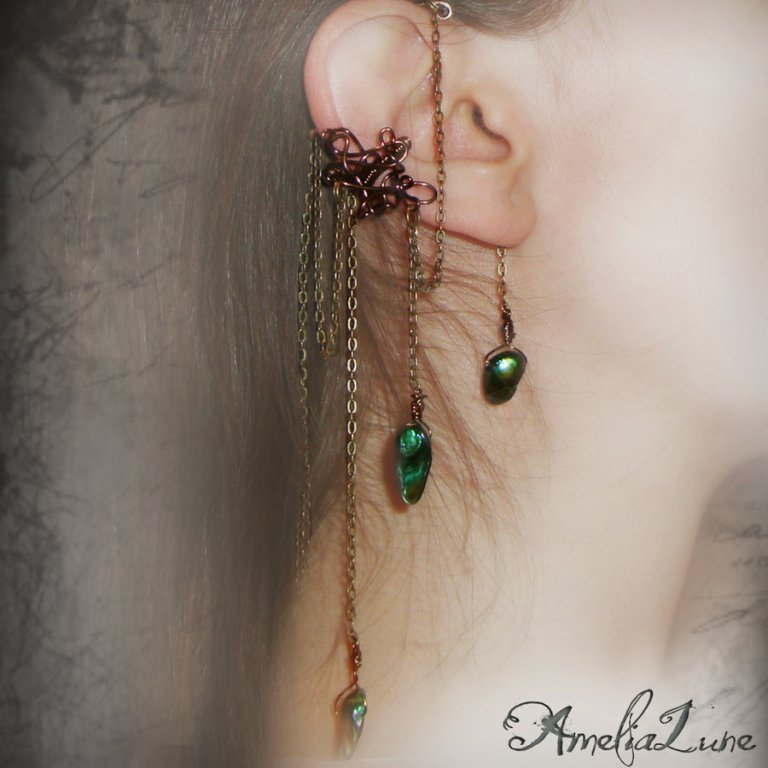 bronze_faerie_ear_cuff_by_amelialune-d38649w Slave Earrings For Catchier Ears & Fashionable Styles ...