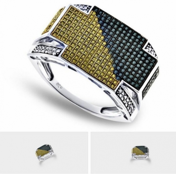 canary-diamond-rings-for-mens Men's Diamond Rings for More Luxury & Elegance